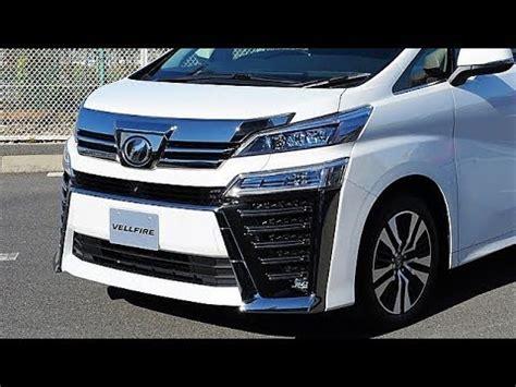toyota vellfire  luxury minivan youtube