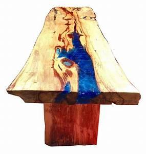 Table En Bois Et Resine : console ou table en resine fractale et bois precieux le tamarin tables ~ Dode.kayakingforconservation.com Idées de Décoration