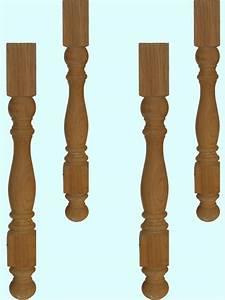 Pied De Table En Bois : pieds de table bois ~ Dailycaller-alerts.com Idées de Décoration