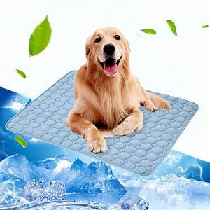 Pet Cooling Mat For Dogs Cool Breathable Pad