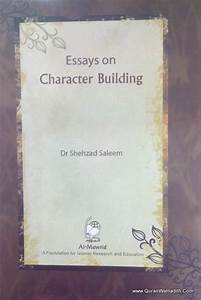 Thesis Statement For A Persuasive Essay Essay On Character Building By Swami Vivekananda Speech Essay For High School Application also Personal Essay Thesis Statement Essay On Character Building Writing A Reaction Paper Essay On  The Yellow Wallpaper Essay