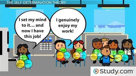 determination cognitive evaluation theories