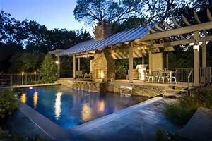 Outdoor Living II - Rustic - Pool - Dallas - by Pool