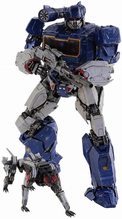 Soundwave Ravage Transformers Sideshow Threezero Dlx Collectible