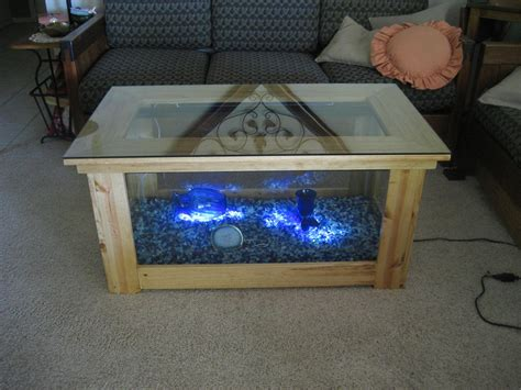 aqua desk spectacular diy fish tank coffee table free guide and