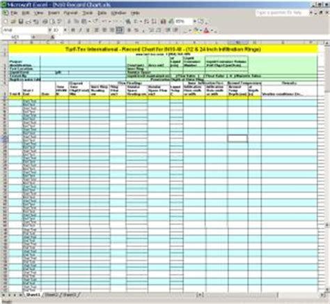 turf tec international free downloadable spreadsheets for