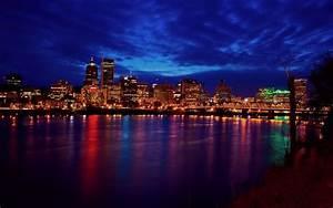 City at night wallpaper - 1377648