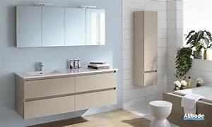 Meubles salle de bains bois sanijura sobro espace aubade for Meuble de salle de bain sanijura