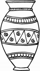 Coloring Pages Vases Vase Printable Pottery Flower Adult Colorpagesformom Template Ancient Ceramic Colouring Greek Flowers Adults Pots Designs Drawing Draw sketch template