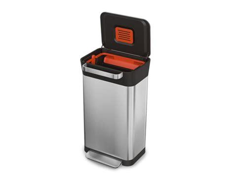 afvalbak keuken 60 liter joseph joseph afvalbak met pers titan 60 liter eco