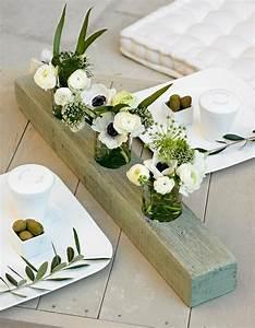 Deco Centre De Table Mariage : un centre de table comme un triptyque marie claire ~ Teatrodelosmanantiales.com Idées de Décoration