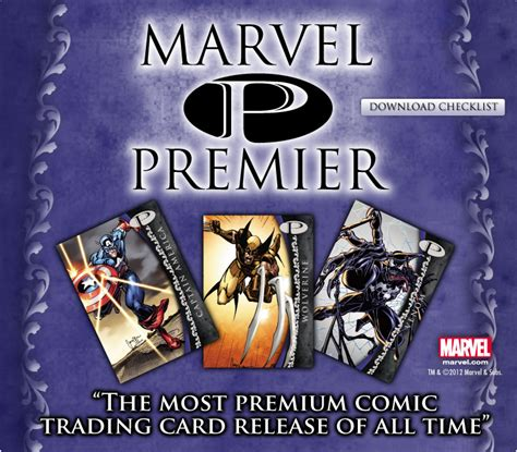 the upper deck company marvel premier