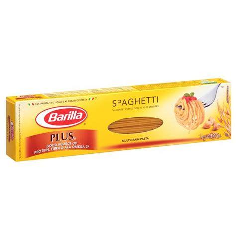 Amazon.com : Barilla Protein Plus Spaghetti Pasta, 14.5