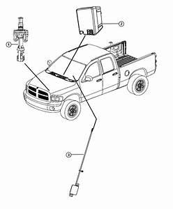 Dodge Ram 1500 Receiver  Export  Wireless Ignition Node