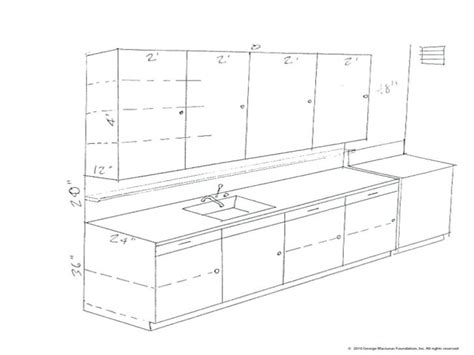 kitchen cabinet drawing  getdrawings