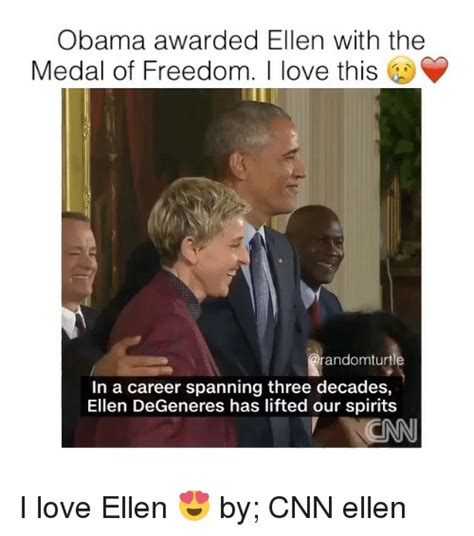 Ellen Degeneres Meme - 25 best memes about medal of freedom medal of freedom memes