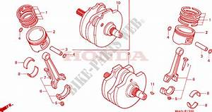 Crankshaft For Honda Vt 1100 Shadow C2 1995   Honda
