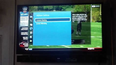 screen mirroring to samsung tv 2013 samsung smart tv screen mirroring a s4 with no dongle