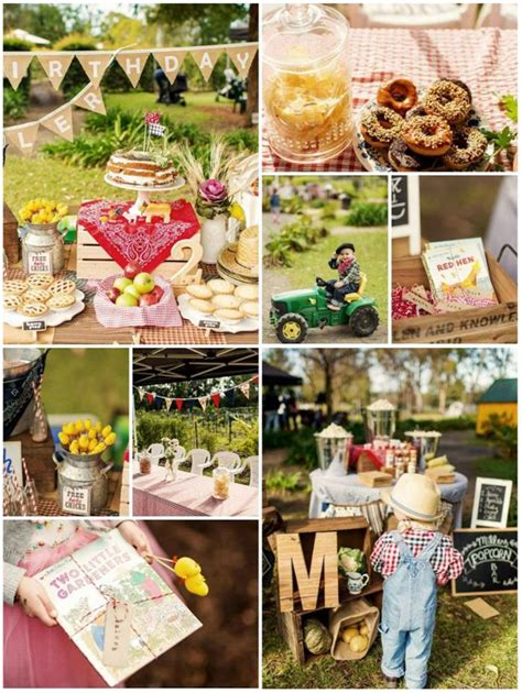 karas party ideas farm birthday party planning ideas