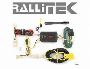 Curt Custom Vehicle-to-trailer Wiring Harness