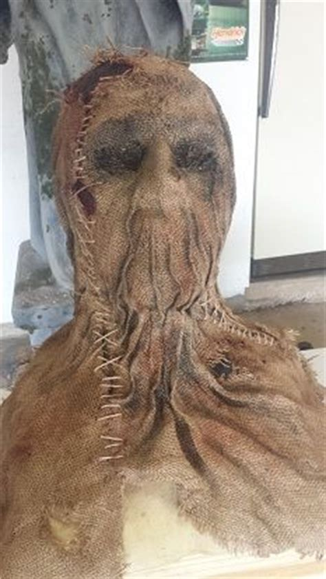 How I Made My Trick 'r Treat Sam Mask  Halloween  Pinterest  Masking, Costumes And Halloween