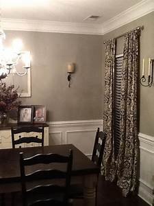 Glidden Paint QuotWood Smokequot Dining Room Love This So Love