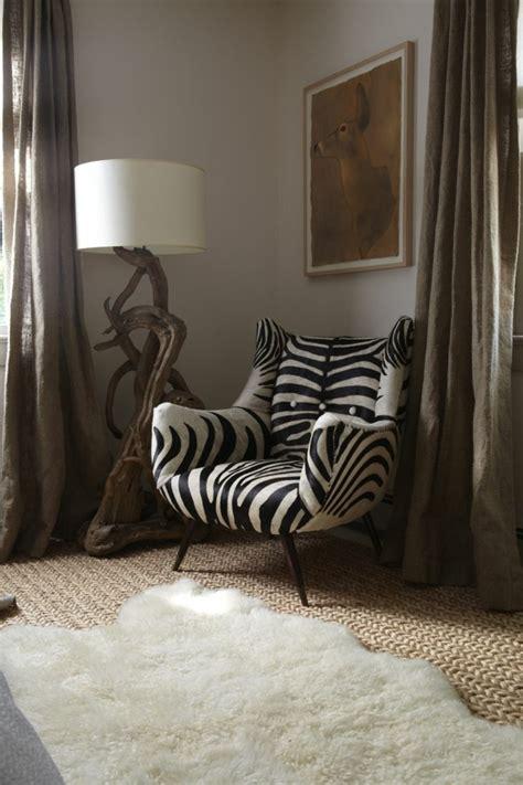 le fauteuil zebre dans   inspirantes