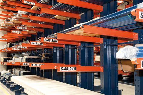 cantilever racks cantilever racking interlake mecalux
