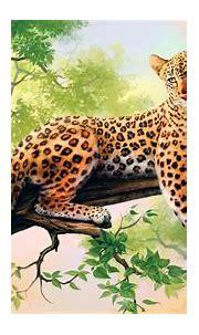 WALLPAPERS HD: Leopard Art