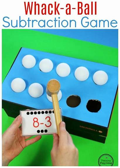 Subtraction Ball Whack Worksheets Idea
