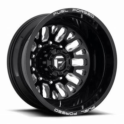Wheels Dually Fuel Rear Lug Gloss Wheel