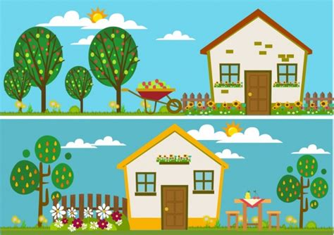 Free Colorful House Cliparts, Download Free Clip Art, Free
