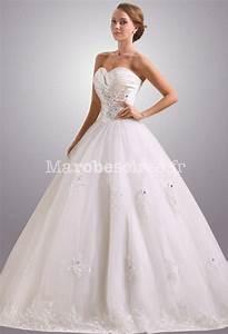 robe de mariee en forme trapeze glamour With forme de robe