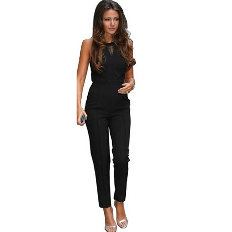 jumpsuits rompers buy rompers womens jumpsuits 2016 black bodycon