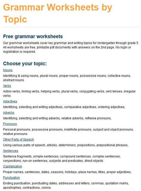 hundreds   grade  grammar worksheets