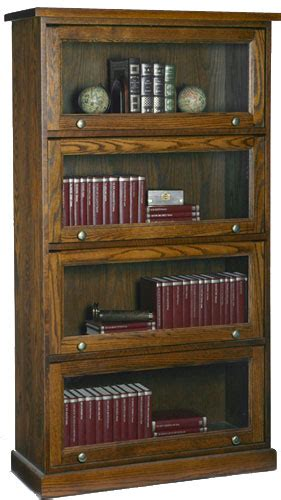 unfinished furniture barrister bookcase barristers bookcase solid wood furniture woodcraft