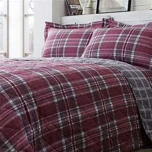 Brushed, Cotton, Mcgill, Check, Bedspread, 200, X, 220cm