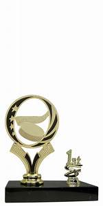 1st - 5th Place Figure on Base Trophies $4.99