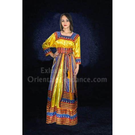 dress ou robe kabyle mode