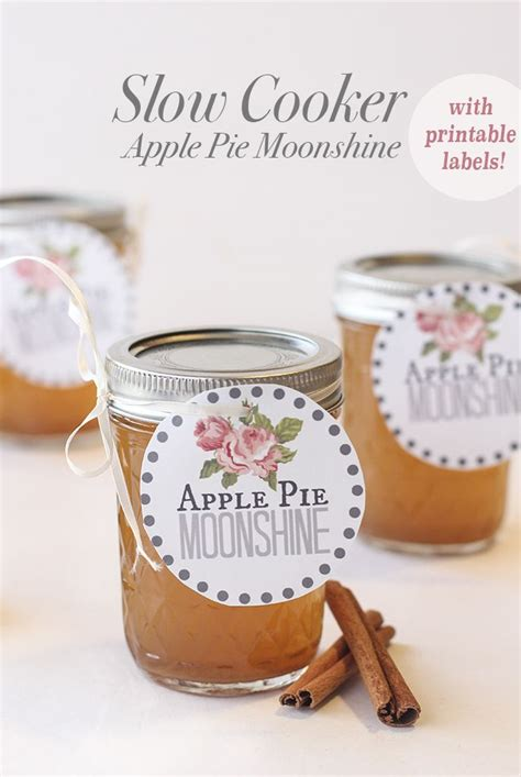 Slow Cooker Apple Pie Moonshine There Are Printable
