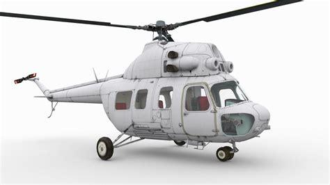 Mil Mi-2 3d Obj