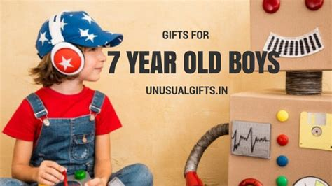 Few Unconventional Outdoor Gifts For 7 Year Old Boys For