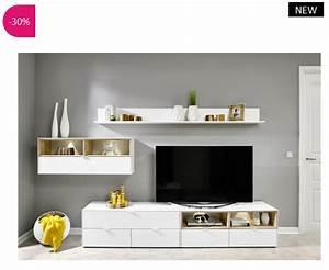 Meuble Tv Design Pas Cher : meuble tv design mural volgia atylia meuble tv atylia ventes pas ~ Teatrodelosmanantiales.com Idées de Décoration