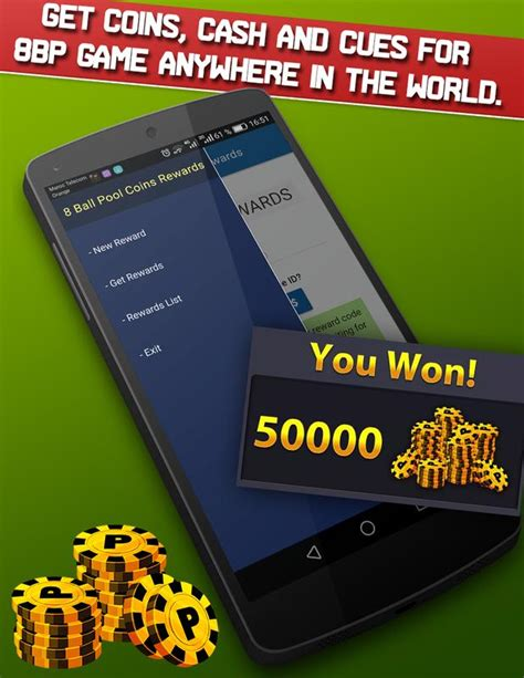 8ball pool instant rewards unlimited coins apk