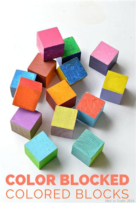 colored blocks color blocked colored blocks mad in crafts