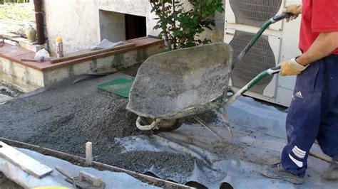 comment faire du beton comment faire une allee en beton sedgu