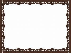 20 Printable Certificate Borders | Blank Certificates
