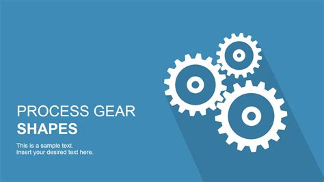 process gear shapes  powerpoint slidemodel