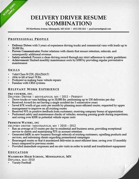 Truck Driver Qualifications Resume by Truck Driver Resume Sles Modern Resume Exle