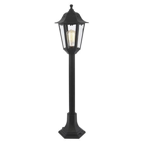 Light Post by Neri Outdoor Polycarbonate L Post Lantern Black From